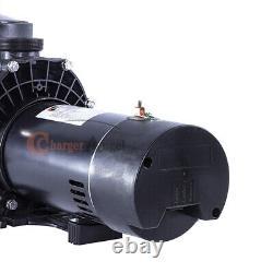 2Speed 1.5HP Inground Swimming Pool pump motor Strainer with1.5'' NPT 230V