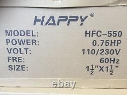3/4 HP In Ground Swimming Pool Pump 46GPM 110V/230V 1.5 Inlet/Outlet