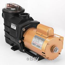 3/4 HP Super Pump SP2605X7 Single Speed In-Ground Swimming Pool Pump