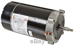 3/4 Hp 56j-AS 2 Spd Full-Rated C Flange Pump Motor For Inground Swimming Pool