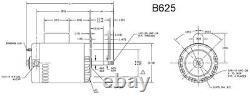 3/4HP 3450 RPM 115/230V 56CZ Polaris Booster Pump Motor for PB460 Century # B625
