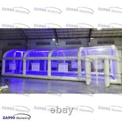 33x16ft Led Inflatable Dome Tent Cover For Swimming Pool With Air Pump