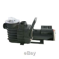 48S 2-Speed, 2 HP In Ground Pool Pump w Copper Windings, 91 ft. Max Head, 3800-7