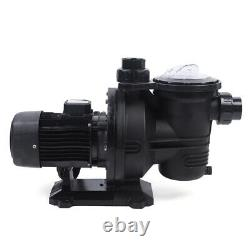 500W DC Solar Pump In-Ground Swimming Pool Pump Clean Spa Brushless Motor 66GPM