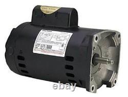 A. O. Smith Century B2843 Square Flange 2HP 3450RPM Pool Pump Motor (Open Box)