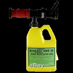Barricade Fire Gel Eductor Nozzle for Fire Pump Systems (for 1 gal containers)