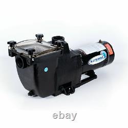 Blue Torrent 1HP Typhoon 48 Frame In Ground Pool Pump for Hayward Super Plumbing