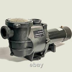 Blue Torrent Maxiforce 1 HP 83 GPM Pump with Switch for In Ground Pools (Open Box)