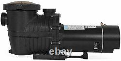 Blue Torrent Maxiforce 2 HP Pump with Manual Switch for In Ground Swimming Pools