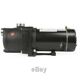 Booster Pressure Garden House Inground Swimming Pool Cleaner Pump 115V 230V 1-HP