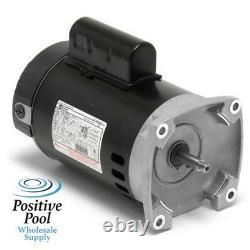 Century 1 HP Swimming Pool Pump Motor B2848v1 B2848 Wfe-4