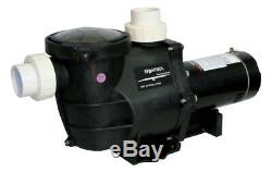 Deluxe High Performance Pool Pump In-Ground 1 HP 115-230V with Fittings