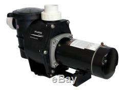 Deluxe High Performance Swimming Pool Pump In-Ground 1.5 HP-230V withFittings