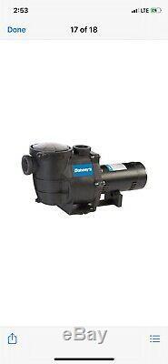 Doheny 1.5 Hp Inground Pool Pump