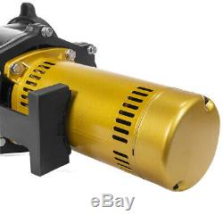 Electric Pool Pump In-Ground 2HP Inlet Dual Watt 230V with Slip-On Fitting Black