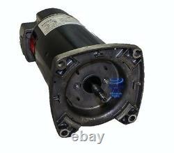 Emerson/US Motors Pool Pump Motor 1HP Square ASQ125 EUSQ1102 USQ1102