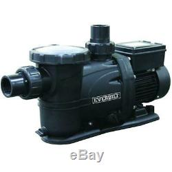 Everbilt EB1100DP 1 HP 230/115-Volt Pool Pump With Protector Technology In-ground