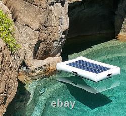 Floating Solar Pool Solar Pond Pump Filter Pump 500 GPH 3K GPD 35w