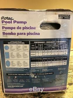 Flotec 1HP In-Ground Two-Speed Pool Pump Model FPT20510