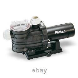Flotec AT251001-01 86 GPM 1 HP Pool Pump (115/230V)
