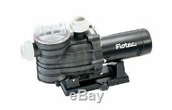 Flotec AT251501 In-Ground Pool Pump, 1-1/2 HP, Corrosion Resistant Thermoplas