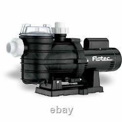 Flotec Two-Speed In-Ground Pool Pump, 1-1/2 HP