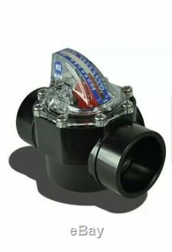 FlowVis Flow Meter 2X2.5 FV-C For Inground Swimming Pool Variable Speed Pump