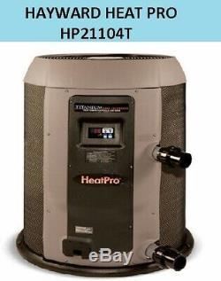 HAYWARD HEAT PRO In Ground Pool Heat Pump 110,000 BTU Round HP21104T