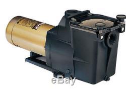 HAYWARD Super Pump 1 HP 2 Speed For Inground Swimming Pool 230V SP2607X102S