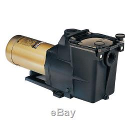 Hayward 1.5 HP Dual-Speed Super Pump SP2610X152S For Inground Swimming Pool