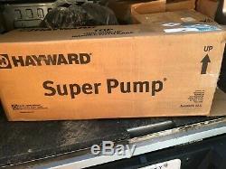 Hayward 1 HP SUPER PUMP SP2607X10 Inground Swimming Pool Pump 115/230V