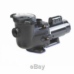Hayward 1 HP TriStar SP3207X10 Max-Rated Inground Swimming Pool Pump 115/230V