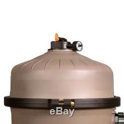 Hayward 425 Square Foot 3 HP SwimClear Cartridge Filter Inground Pool Pump C4030