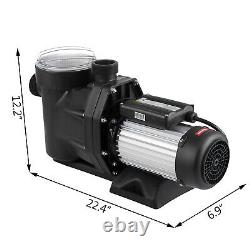 Hayward Above/In Ground 2.5HP 110V Swimming Pool Pump 1850W Spa Motor Strainer