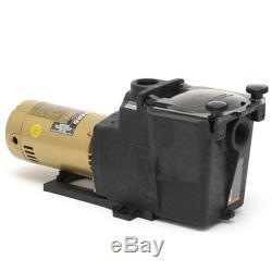 Hayward SP2607X10 Super Pump High Performance 1HP Pool Pump, 115V/230V IN-GROUND
