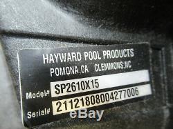 Hayward SP2610X15 Super Pump 1.5 HP Inground Swimming Pool Pump Complete