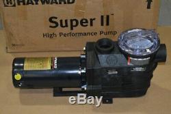 Hayward SP3015X20AZ Super II 2-HP High Performance In-ground Pool Pump AZ