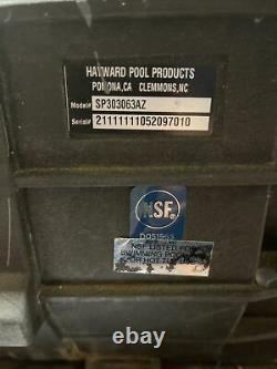 Hayward SP303063AZ Super II AO Smith Single Speed 3HP Pool Pump, 230/460 3PH