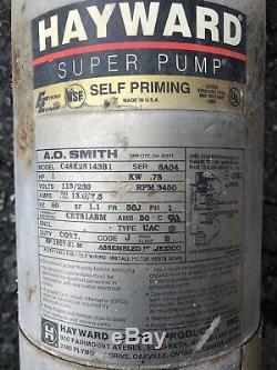 Hayward Super In-Ground Self Priming Pool Pump