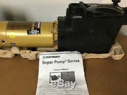 Hayward Super Pump 1.5 HP In Ground Swimming Pool Pump SP2610X15