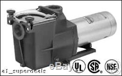 Hayward Super Pump 1.5 HP Inground Swimming Pool Pump Max rated SP2610X15