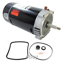 Hayward Super Pump 1 HP SP2607X10 Pool Motor Replacement Kit UST1102 with GO-KIT-3