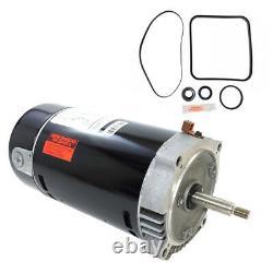 Hayward Super Pump. 75HP SP2605X7 Motor Kit AO Smith UST1072 with GO-KIT-3
