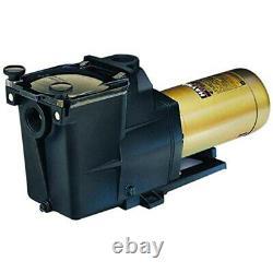 Hayward W3SP2605X7 Super Pump Swimming Pool Pump, 0.75 HP 115/230V Single Speed