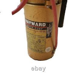 Hayward W3SP2607X10 In-Ground Pool Pump works great Filter pump