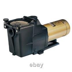 Hayward W3SP2607X10 Super Pump Swimming Pool Pump, 1 HP 115/230V Single Speed