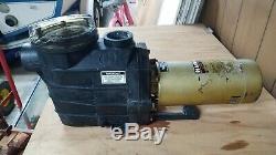 Hayward ii 2 HP Inground Super Pump Swimming Pool Pump 115/230V 2 Port Pot