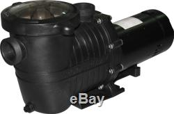 High Performance Swimming Pool Pump In-Ground 1 HP 115-230V