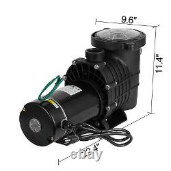 In/Above Ground Swimming Pool Pump Motor with Strainer Hayward Replacement 1.5HP