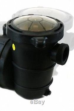 In Ground Swimming Pool Pump HIGH ENERGY SAVING EFFICIENT 1HP Water Strainer NEW
